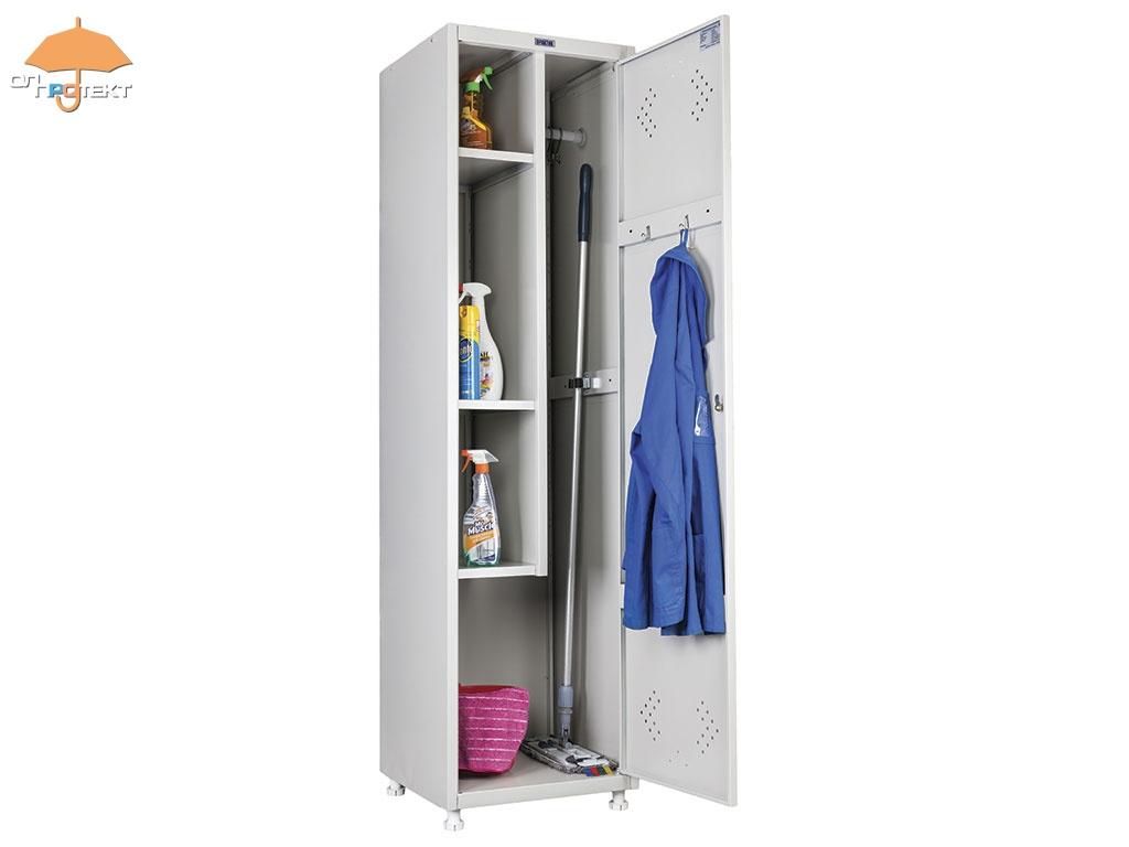 шкаф для хранения рабочей одежды и инвентаря